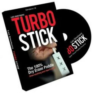 tour de magie Turbo Stick du magicien Richard Sanders
