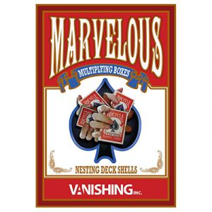 tour de magie marvelous card box