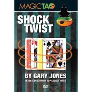 tour de magie shock twist du magicien Gary JONES