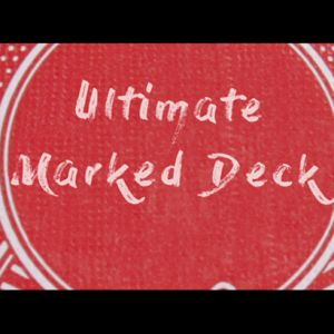 magie jeu de cartes Ultimate Marked Deck do rouge
