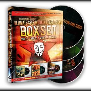 ULTIMATE SELF WORKING CARD TRICKS - TRIPLE VOLUME BOX SET