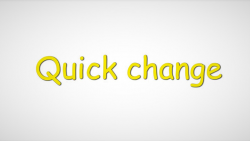 Quick Change by Sultan Orazaly video