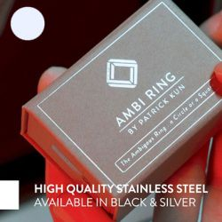 AMBI RING - ARGENT