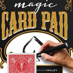 CARD PAD - ROUGE