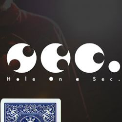 HOLE ON A SEC - BLEU