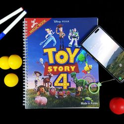 MAGIC COLORING BOOK (TOY STORY 4)