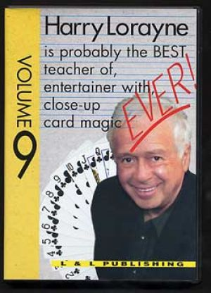 DVD ever Vol.9 du magicien Harry Lorayne