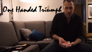 One Handed Triumph by Justin Miller video