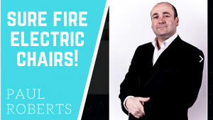 Sure Fire Electric Chairs by Paul Roberts video