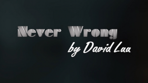 Never Wrong by David Luu video