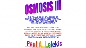 OSMOSIS III - Paul A. Lelekis Mixed Media