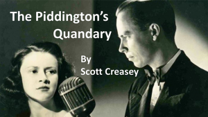 The Piddington's Quandary - video DOWNLOAD
