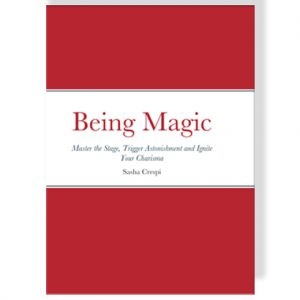 BEING MAGIC - Livre Sacha CRESPI