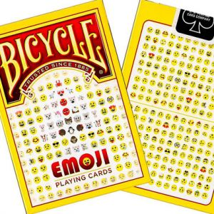 Bicycle EMOJI - Jeu de Cartes