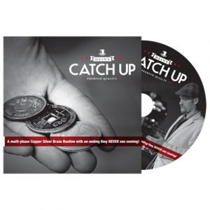dvd de magie Catch Up du magicien Karl Hein