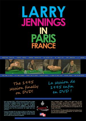 magie, DVD Laryy JENNINGS in Paris
