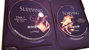 double DVD de magie SLEEVING