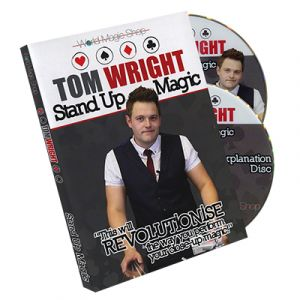 DVD de magie STANDUP MAGIC du magicien TOM WRIGHT