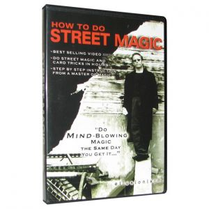 DVD de magie How to do Street Magic