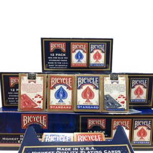 Lot de 72 jeux bicycle Rider Back