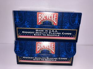 LOT DE 2 CARTOUCHES BICYCLE RIDER BACK