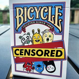 BICYCLE CENSORED - Jeu de cartes