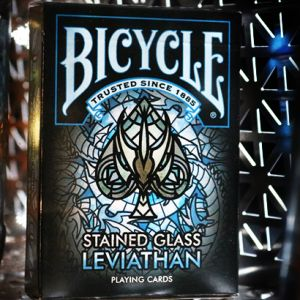 Bicycle Stained Glass Leviathan - Jeu de Cartes