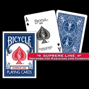 Bicycle SUPREME LINE (Bleu) - Jeu de Cartes