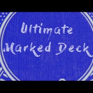 magie, le jeu de cartes marque ultimate marked deck bicycle bleu