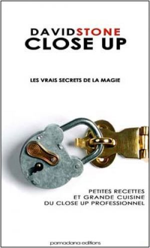 Livre : David Stone Close Up - Les vrais secrets de la magie