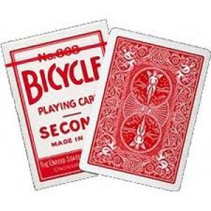 Carte Bicycle Second Rouge