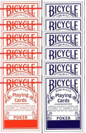 La cartouche de jeu de cartes Bicycle second