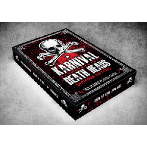 Jeu de cartes KJarnival Death Heads