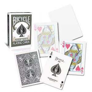 magie, Jeu de cartes Bicycle Dos gris