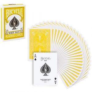 magie, Jeu de cartes Bicycle Dos jaune