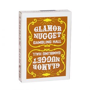 magie jeu de cartes GLAMOR NUGGET EDITION marron