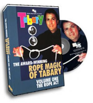 DVD The Award Winning Rope Magic du magicien Francis Tabary