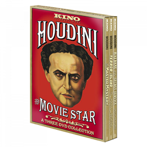 DVD Houdini: The Movie Star - pack de 3 DVD du magicien Harry Houdini