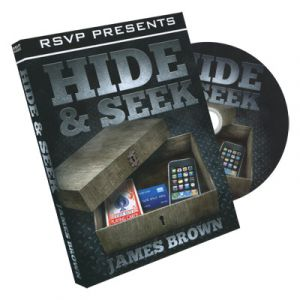 DVD Hide & Seek du magicien James Brown