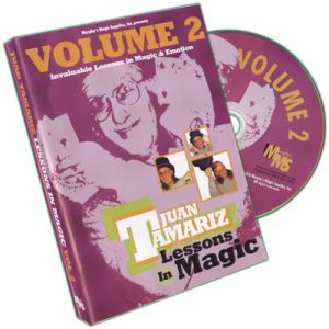DVD Lessons in Magic Vol.2 du magicien jaun Tamariz