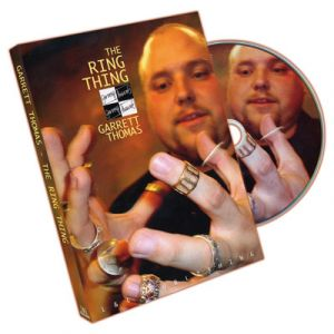 DVD de magie Ring Thing du magicien Garrett Thomas