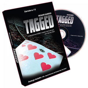 DVD TAGGED & Gimmick du magicienRichard Sanders