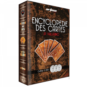 DVD ENCYCLOPEDIE DES CARTES - 3 DVD - J.P. Vallarino