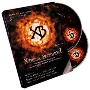 dvd de magie XTREM BEGINNERZ VOL.1