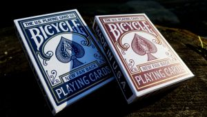 magie, le jeu de cartes bicycle new fan back par DAN&Dave et U.S. Playing Card Cie