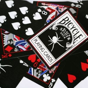 magie, jeu de cartes Black Spider