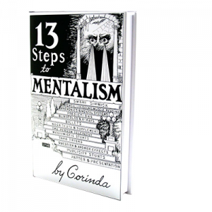 Livre : 13 Steps to Mentalism de Tony Coribda Version US