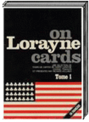 Livre Lorayne on Cards - Tome 1 - Magix ed.