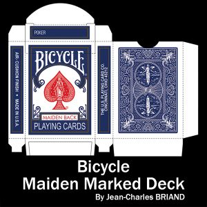 MAIDEN MARKED DECK (Bleu)