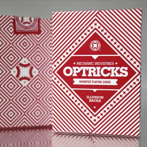 MECHANIC OPTRICKS Rouge - Jeu de Cartes